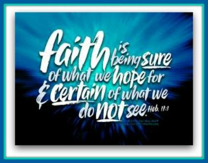 faith has a voice